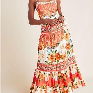 NWT Farm Rio Lorraine Maxi Dress